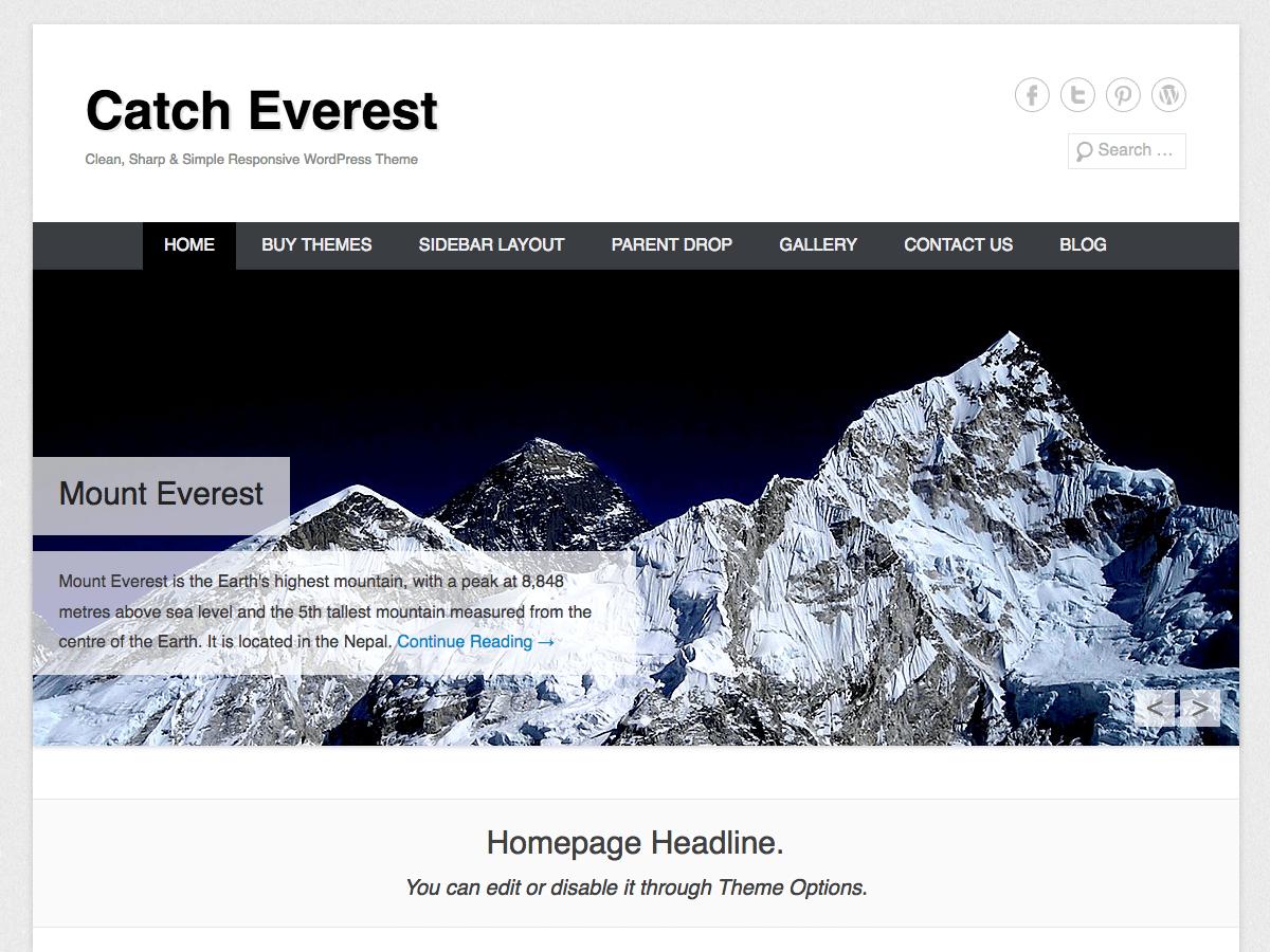 Catch Everest